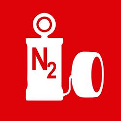 Inflado de nitrógeno
